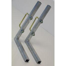 Bevestiginssteunen/set voor kunststof kist (45.70.32)