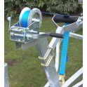 Knott  handlier 2500 LBS 2 snelheden met band en haak.