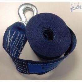 Lierband nylon blauw 2500kg, extra breed
