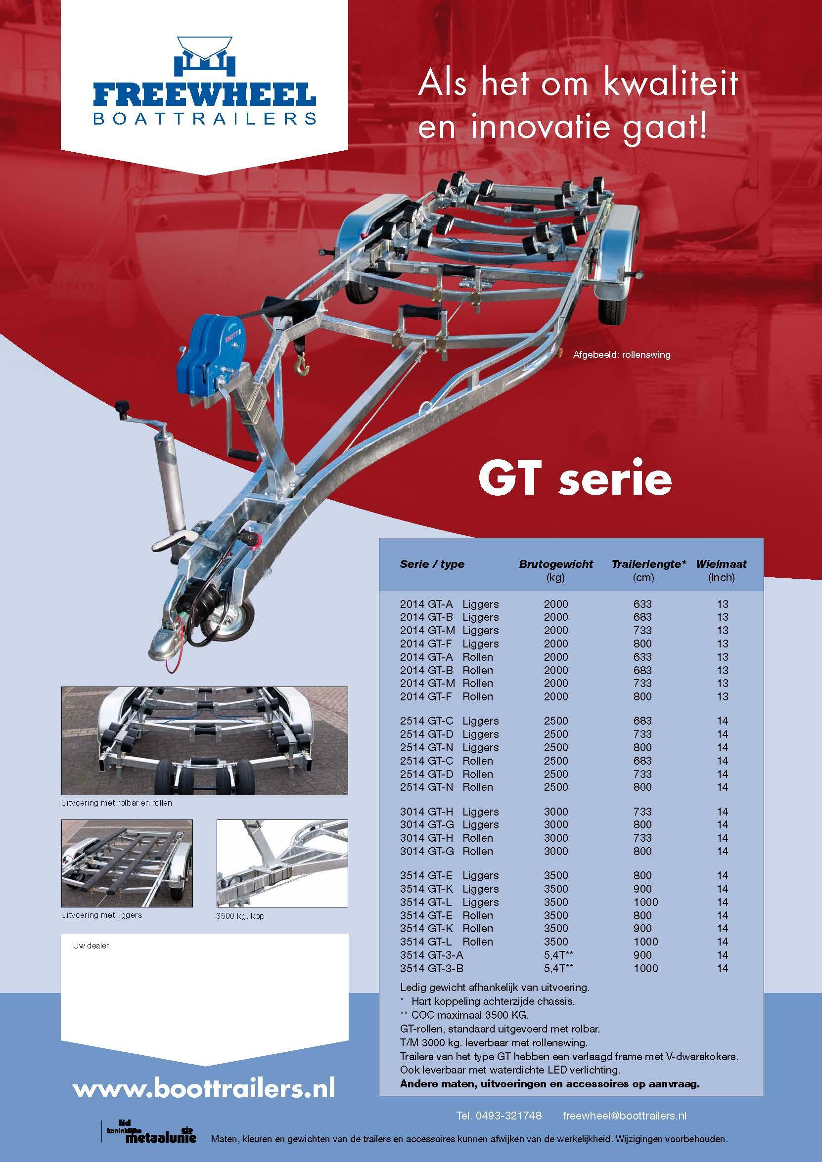 Freewheel GT serie