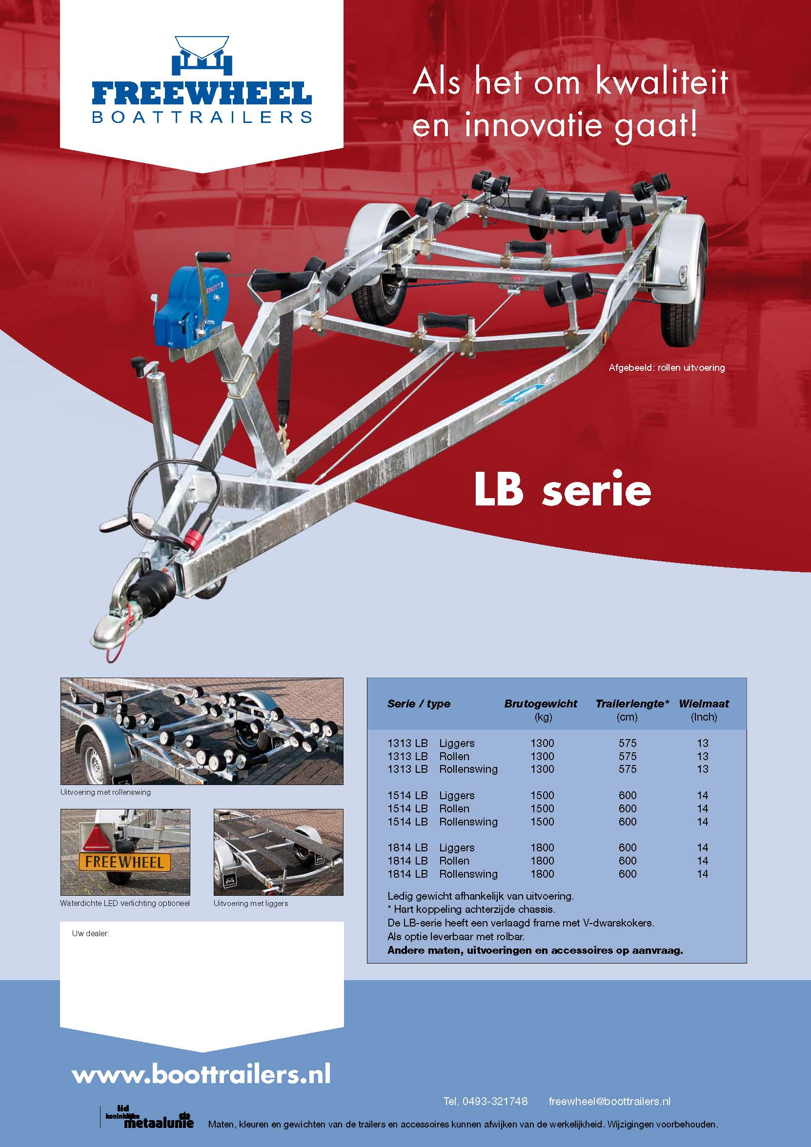 Freewheel LB serie